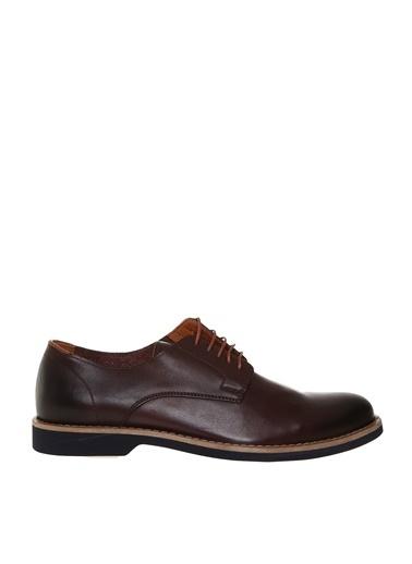 Fabrika Bağcıklı Klasik Ayakkabı Kahve